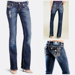 MEK DENIM OAXACA FLAP POCKET DENIM BLUE JEANS 25